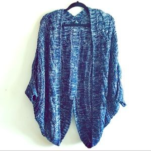 Blue knitted Forever 21 Cardigan